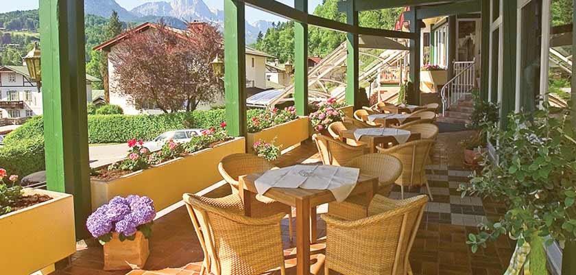Alpenhotel Fischer, terrace, Berchtesgaden, Germany.jpg